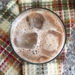 iced cardamom latte