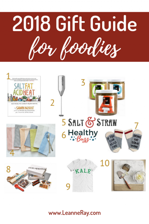 My 2018 Holiday Gift Guide for Foodies