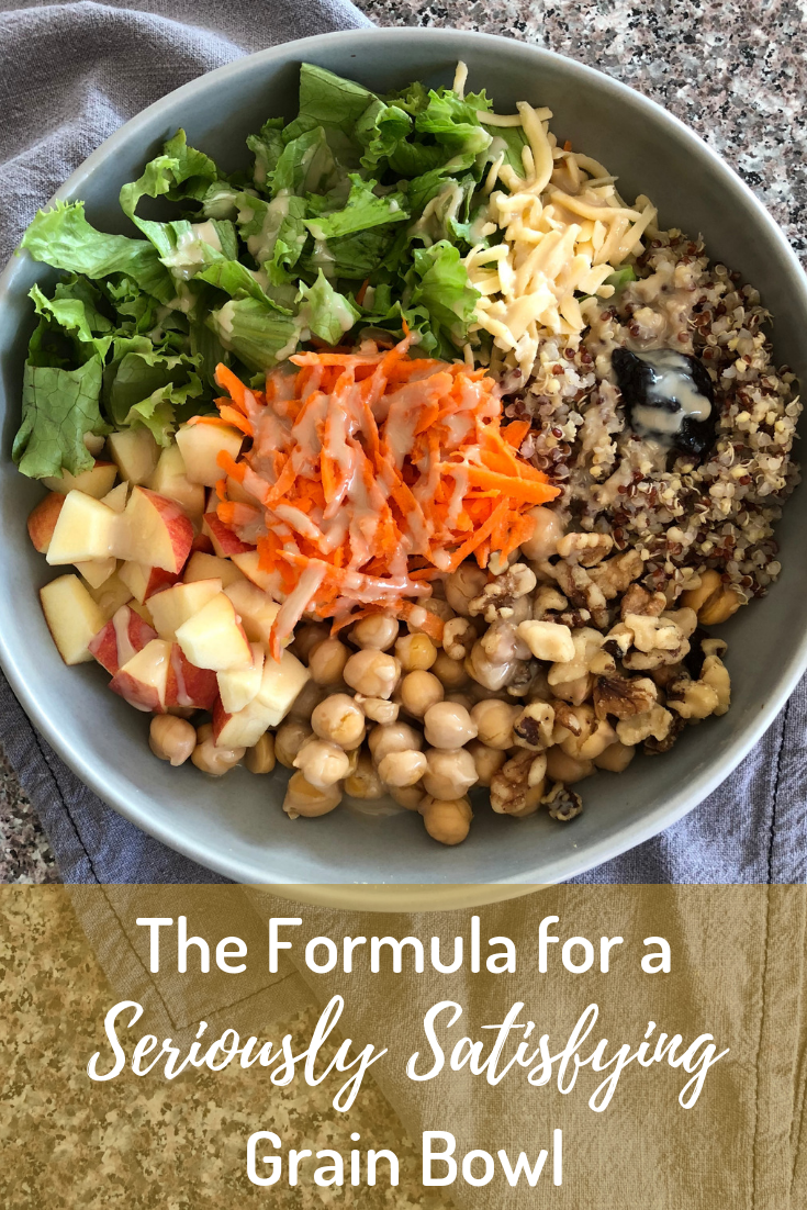 how to make a grain bowl