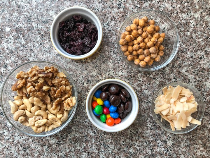 snack bar toppings