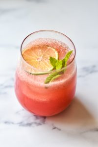 watermelon mint cocktail