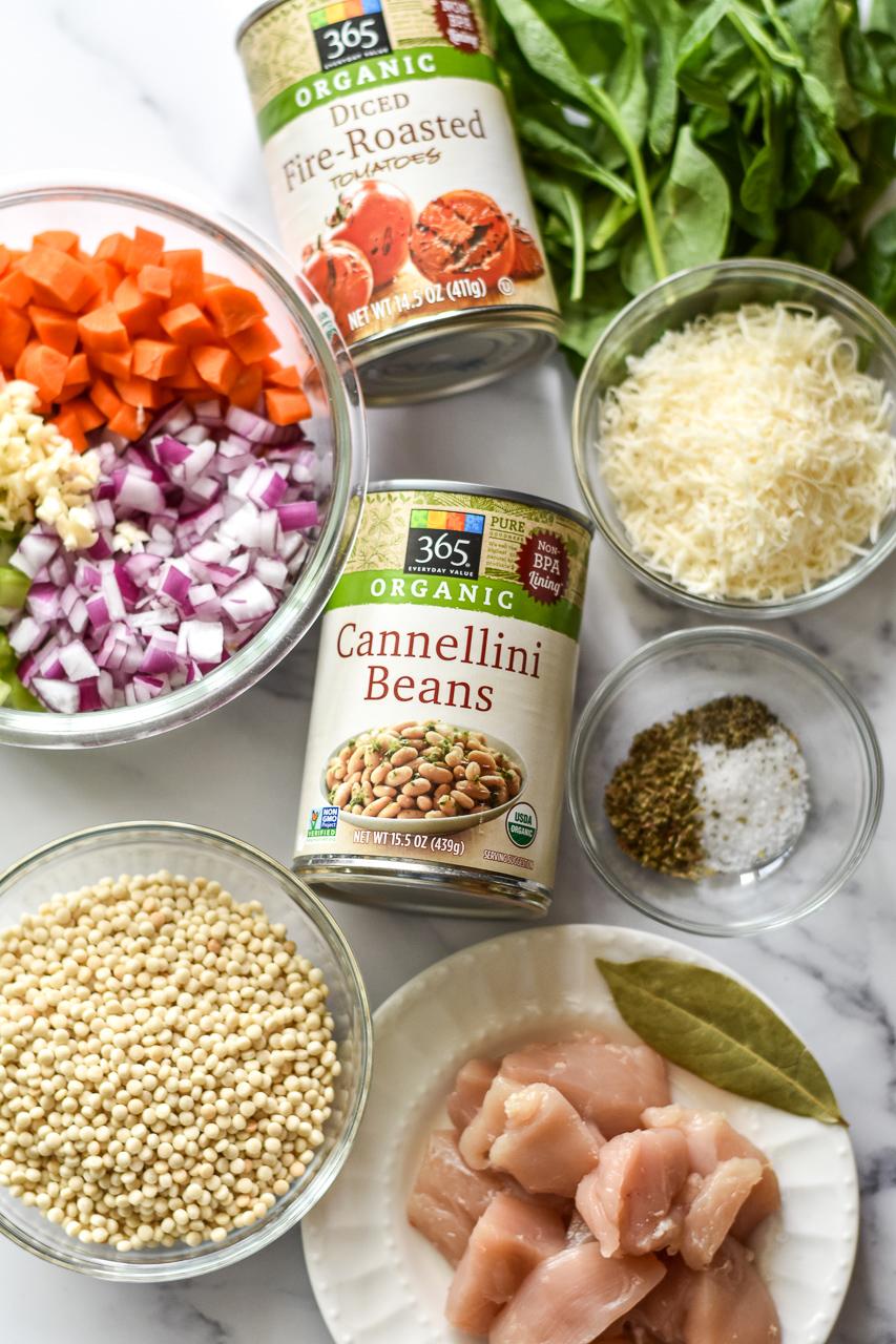 ingredients for chicken stew