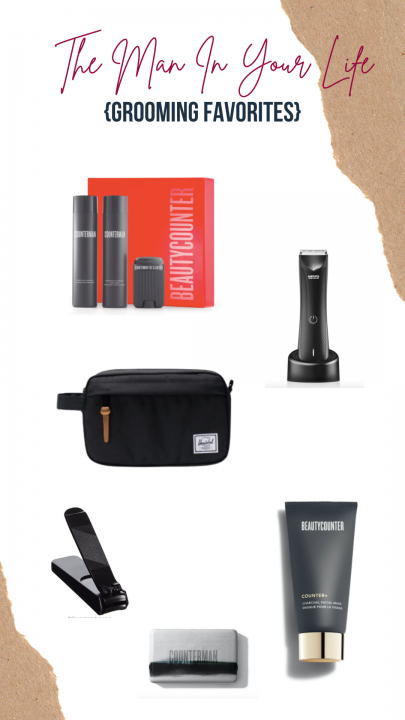 holiday gift ideas for the man in your life including beautycounter counterman fresh essentials kit